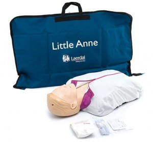 Fantom AED Little Anne BOXMET MEDICAL 122-01050