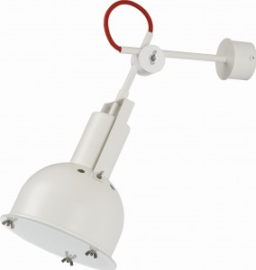 Lampa INDUSTRIAL white I kinkiet S, 5524 Nowodvorski Lighting